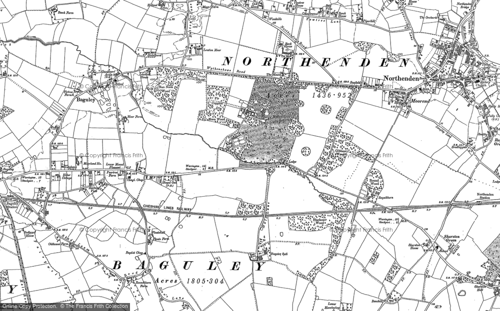 Map of the area from 1897