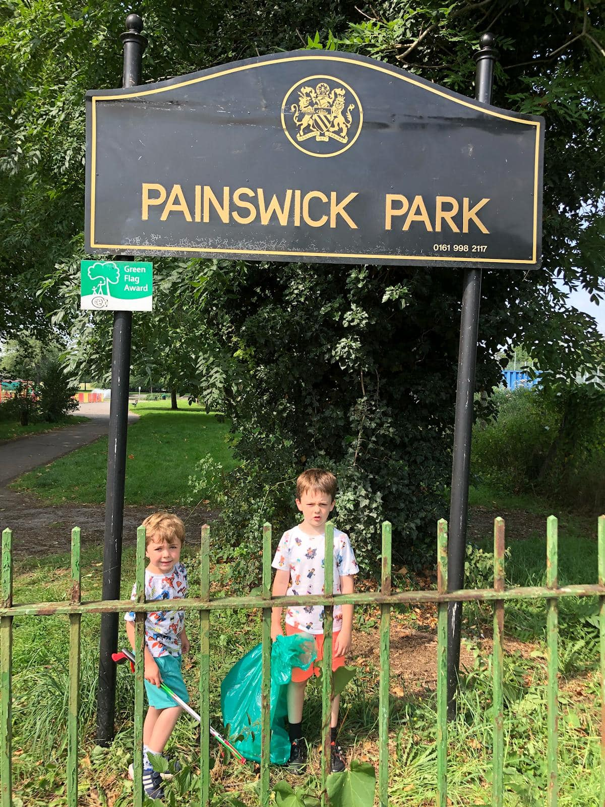 26. 14th Painswick Park Sign