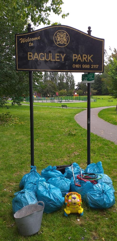 45. 28th Baguley park sign